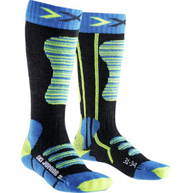 X-Socks Ski Socks Juniors Turquoise/Yellow